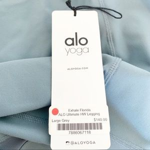 ALO Yoga Pants - NWT Alo Ultimate High-Waist Legging/Go glossy
